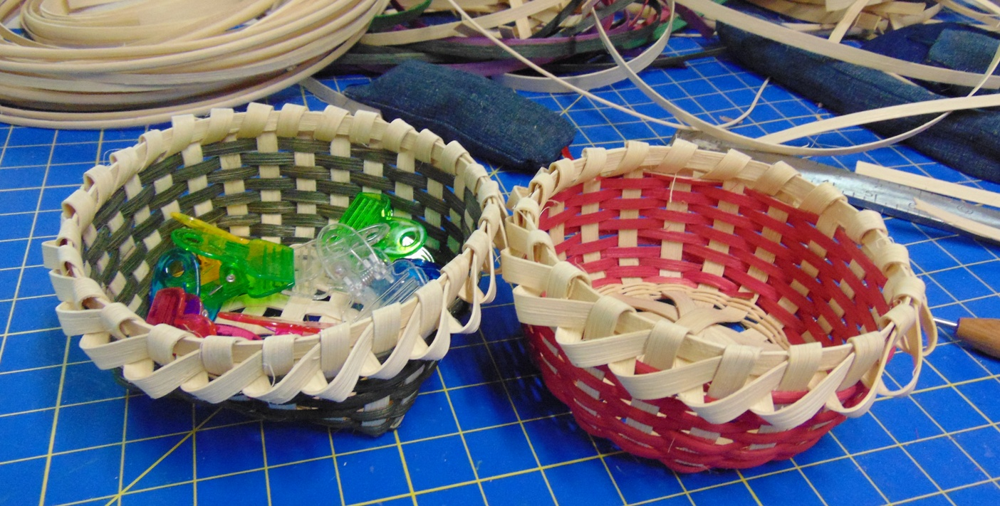 Candy Baskets, Basket Class, Cootie Coo Creations, High Springs, FL
