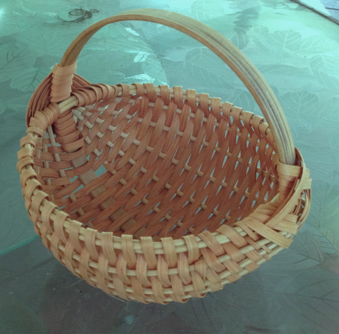 Traditional Appalachian Ribbed Buttocks Basket Class, Cootie Coo Creations, High Springs, FL