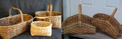 Hearth, Gathering, Market and Berry Baskets