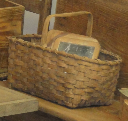 Antique Market Basket seen at Museum of Appalachia, Norris, TN
