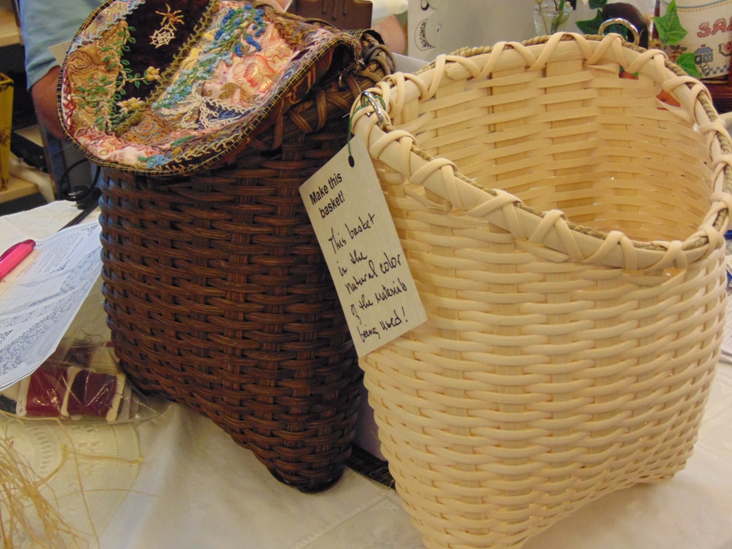 Purse or Wall Basket Class, Rooster Tail boutique, Chiefland, FL