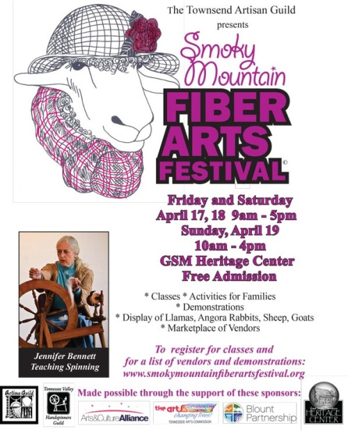 Smoky Mountain Fiber Arts Festival, Great Smoky Mountain Heritage Center, Townsend, TN