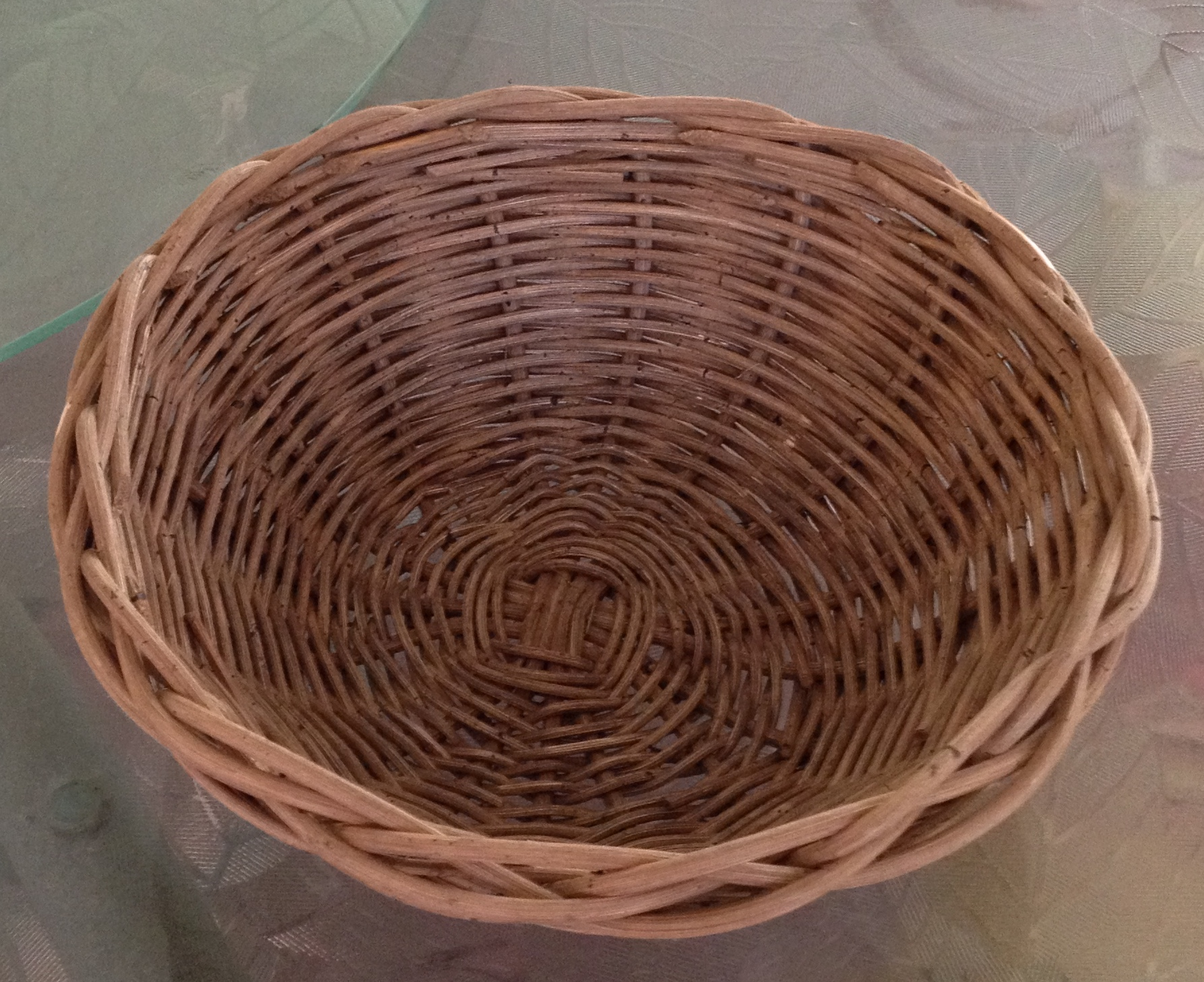 Wicker Fruit Bowl Basket Class, Cootie Coo Creations, High Springs, FL