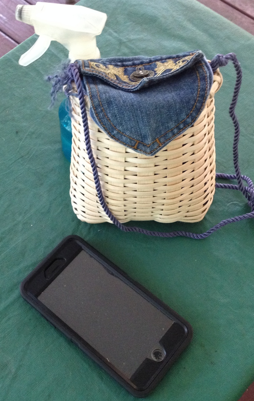Cell Phone Basket Class, Suwannee Valley Cross Stitch, Trenton, FL